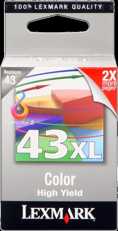 Druckerpatrone Lexmark 43 XL