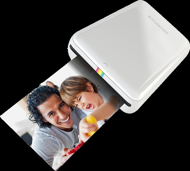 Fotodrucker Polaroid ZIP Mobile Printer weiß
