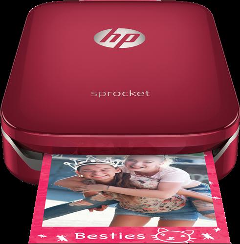 Blutooth-Handy-Drucker-HP-Z3Z93A-Sprocket-Rot