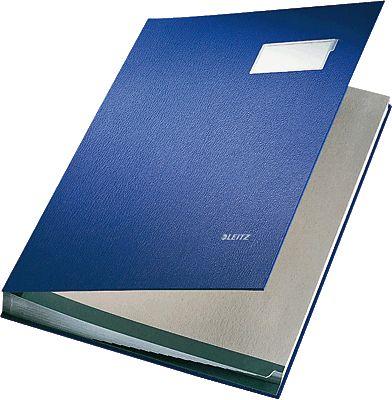 Unterschriftenmappe-Blau