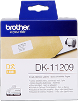 Etiketten Brother DK-11209