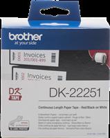 Etiketten Brother DK-22251
