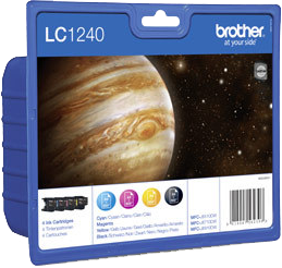 Multipack Brother LC1240VALBPDR