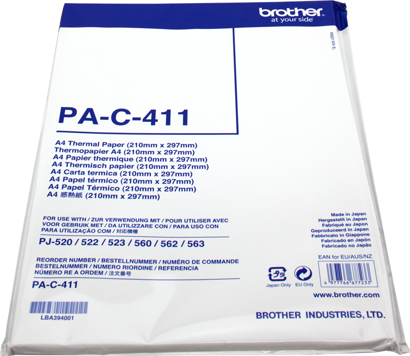 Thermo-Papier Brother PAC411