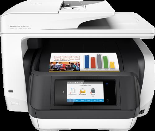 Multifunktionsgerät HP Officejet Pro 8720
