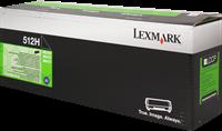 Toner Lexmark 512H