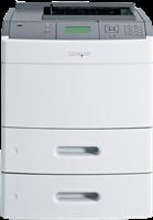 Laserdrucker Schwarz Weiss Lexmark T652dtn