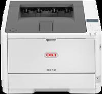 Laserdrucker Schwarz Weiß OKI B412dn