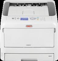 Farb-Laserdrucker OKI C823n
