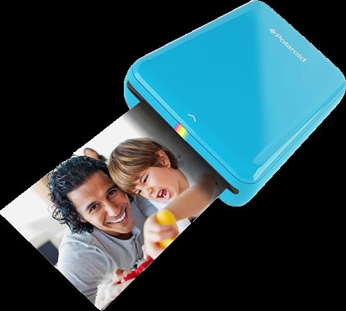 Fotodrucker Polaroid ZIP Mobile Printer blau