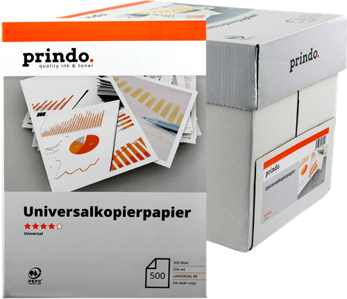 Multifunktionspapier Prindo PR802500A4U
