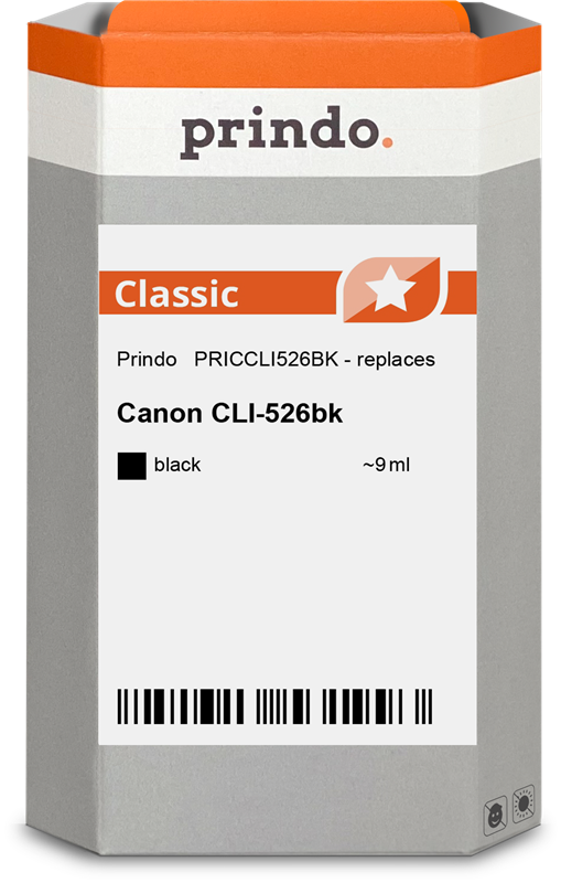 Druckerpatrone Prindo PRICCLI526BK