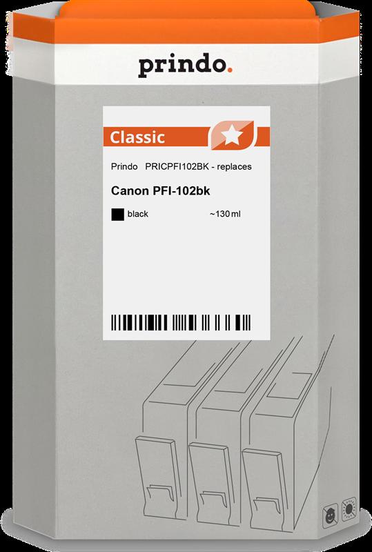 Druckerpatrone Prindo PRICPFI102BK