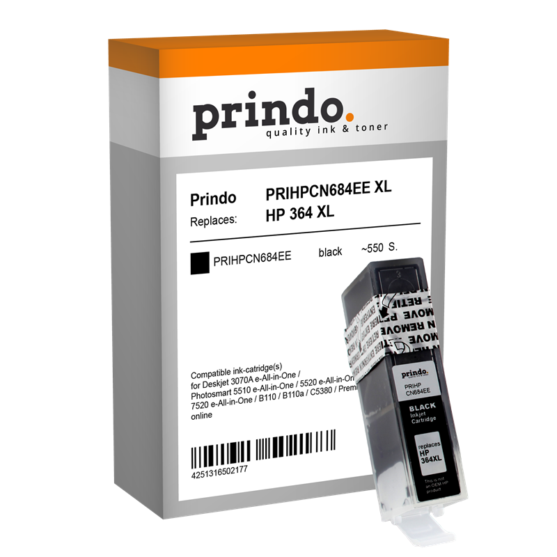 Druckerpatrone Prindo PRIHPCN684EE