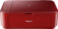 Multifunktionsdrucker Canon PIXMA MG3650 rot